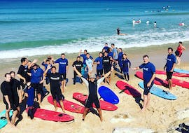 Surfing Lessons on Lacanau Centrale Beach for All Levels