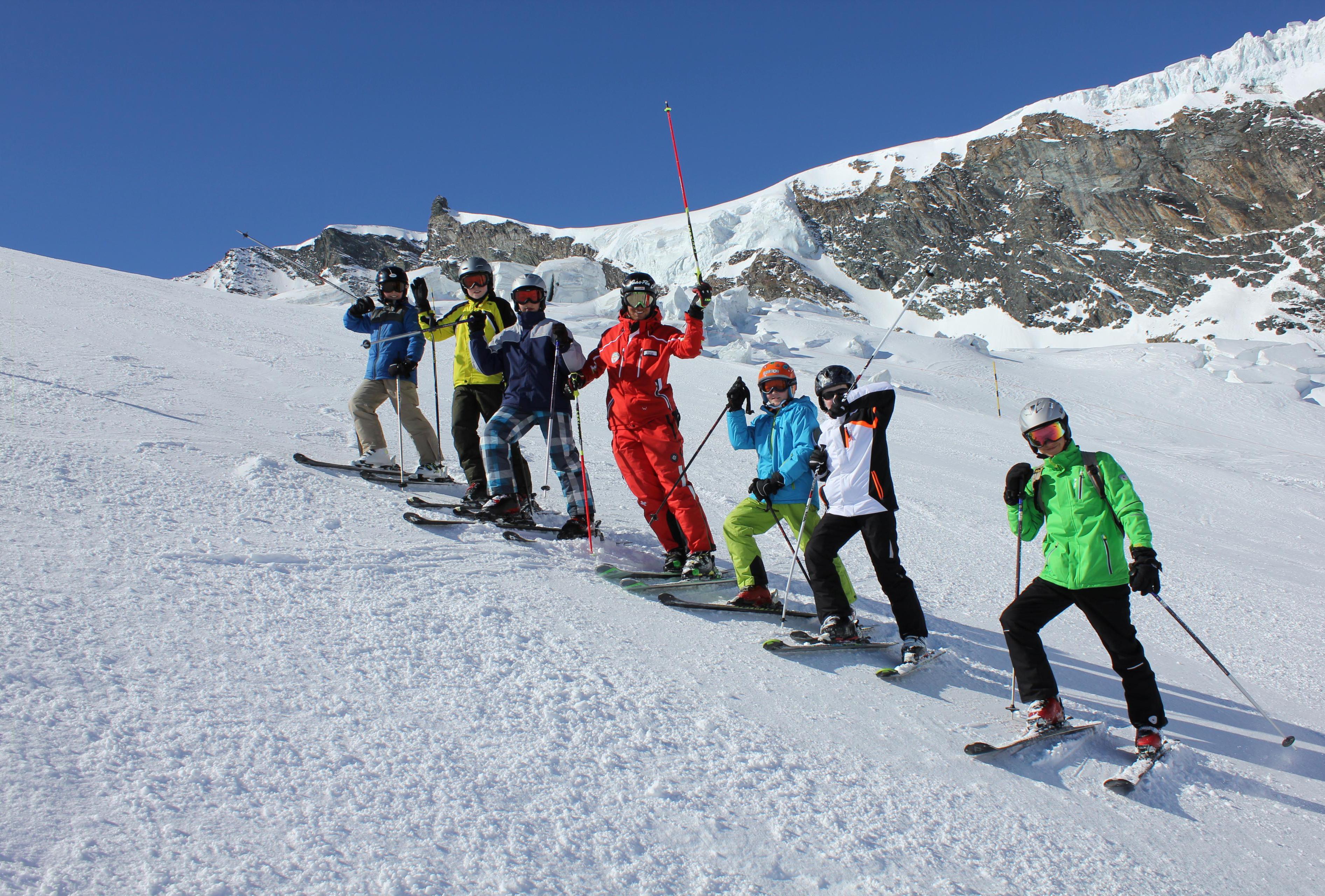 Skilessen voor kinderen vanaf 7 jaar voor alle niveaus
