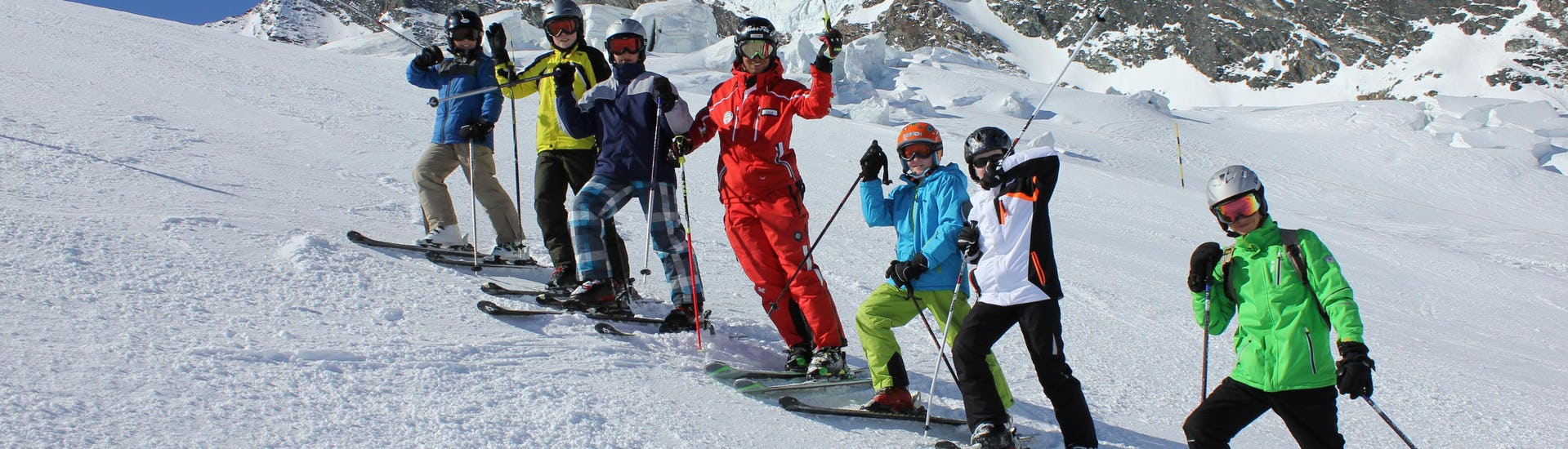 Ski Lessons For Kids & Teens (min 7 years) - All Levels