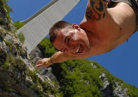 Bungee Jumping from Valgadena Bridge (175m)