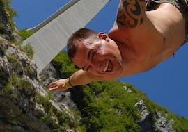 Bungee Jumping from Valgadena Bridge (175m)