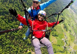 Tandem Paragliding from Kaiserburg - Panorama Flight
