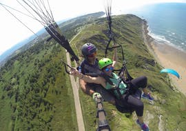 Tandem Paragliding in Sopelana