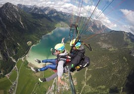 "Tandem Paragliding at Achen Lake - ""Easy"""