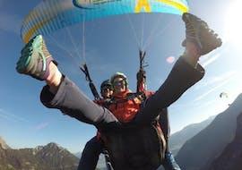 "Tandem Paragliding at Achen Lake - ""Happy"""