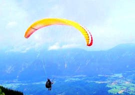Tandem Paragliding at Lake Tribalj
