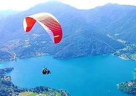 Tandem Paragliding am Ledrosee