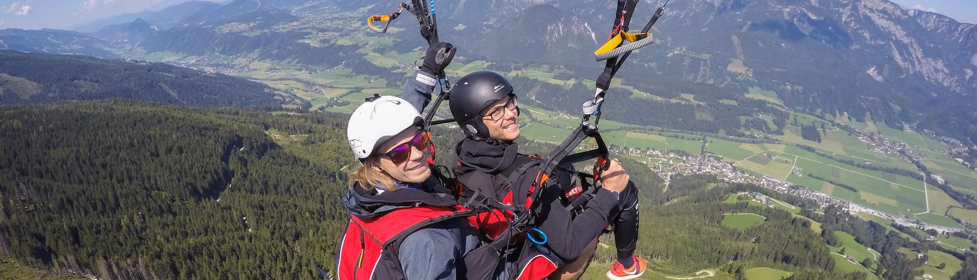 Tandem Paragliding from Hauser Kaibling