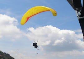 Tandem Paragliding Couple's Flight over Chiemsee or Kössen