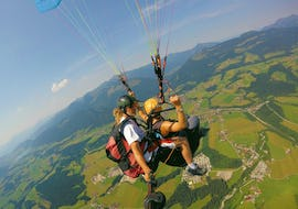 Tandem Paragliding Discovery Flight over Chiemsee or Kössen