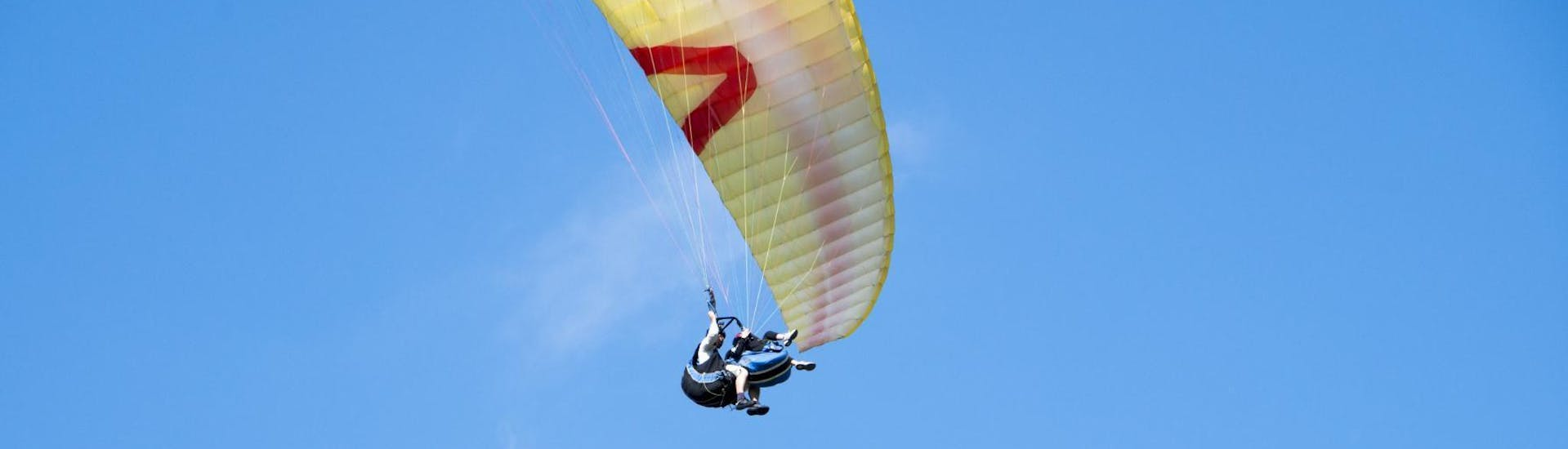 Tandem Paragliding from Krvavec Mountain