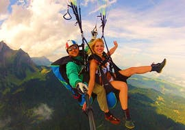 Tandem Paragliding vom Pilatus - Überflieger