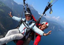 Tandem Paragliding from the Pilatus - Pilatus Flight