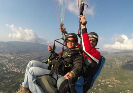 Tandem Paragliding in Athen - Winter