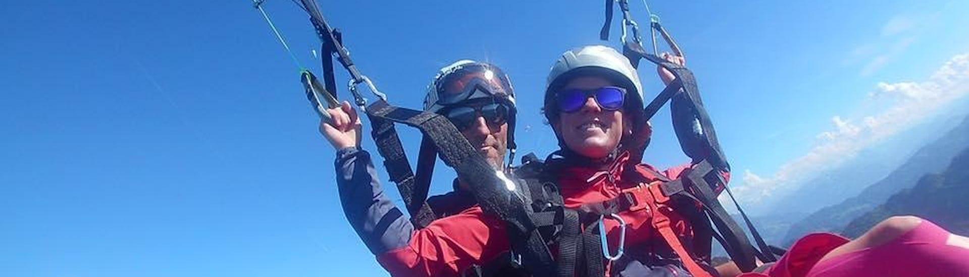 Tandem Paragliding in Kössen - Erlebnisflug