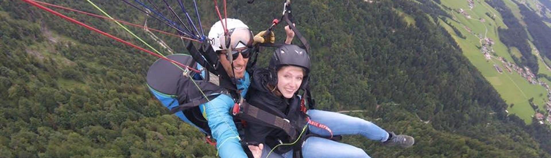 Tandem Paragliding in Kössen - Höhenflug
