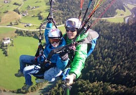 Tandem Paragliding in Kössen - Kids Special (up to 14 years)
