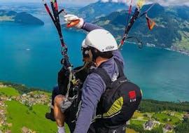 Tandem Paragliding vom Niederbauen - View
