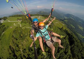 Classic Tandem Paragliding in Salzburg City