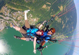 Tandem Paragliding in Gerlitzen - Panorama Flight