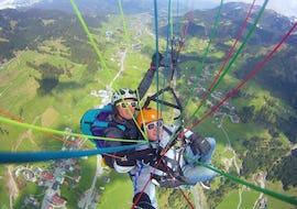 Tandem Paragliding über das Nebelhorn - Panoramaflug