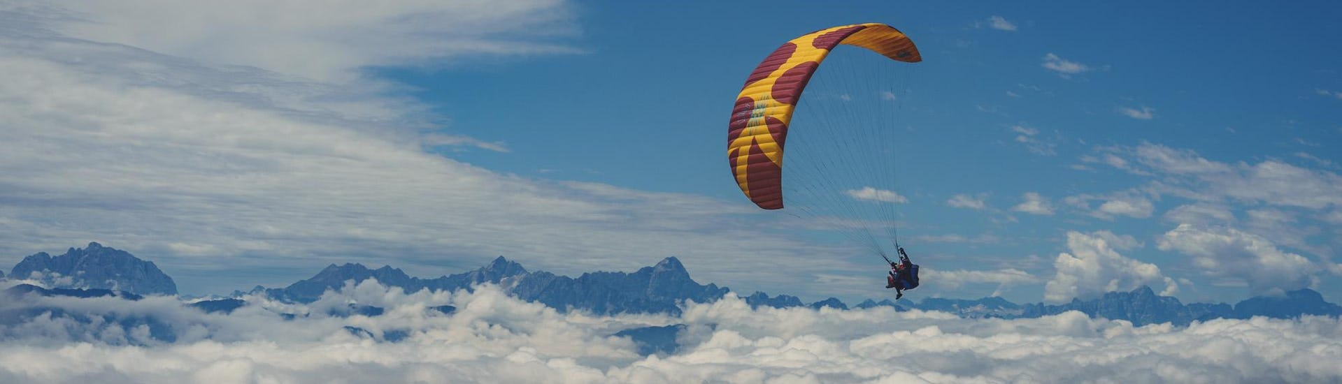 Thermic Tandem Paragliding in Carinthia