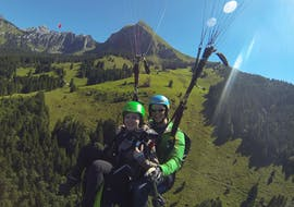 Vol en parapente panoramique à Rufi (dès 6 ans) - Braunwald