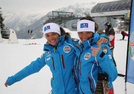 Privé skilessen voor volwassenen voor alle niveaus met Enjoyski School Valmalenco