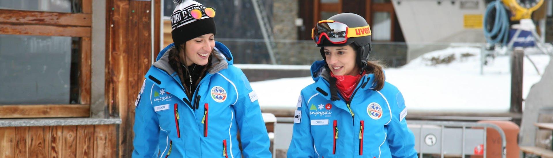 Cours de ski Adultes - Expérimentés avec Enjoyski School Valmalenco - Hero image