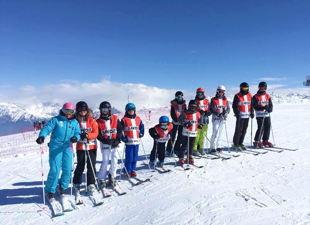 """Cours de ski """"Compétition"""" pour Ados expérimentés"""