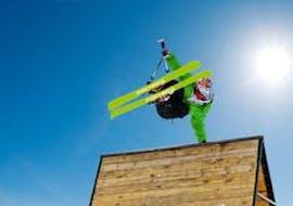 """Ski Lessons """"Kids & Teens Club""""(7-15 y.) for Advanced Skiers"""