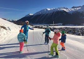 Cours de ski Enfants dès 12 ans pour Tous niveaux avec Silvaplana Top Snowsports