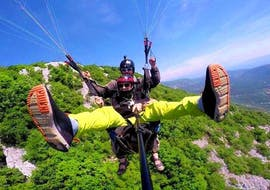 Thermic Tandem Paragliding in Plitvice Lakes National Park