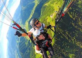 Thermik Tandem Paragliding in Werfenweng vom Bischling