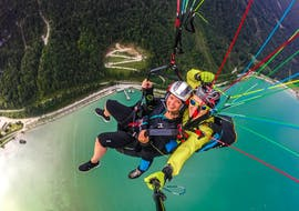 Tandem Paragliding over Achensee - Thermal Flight
