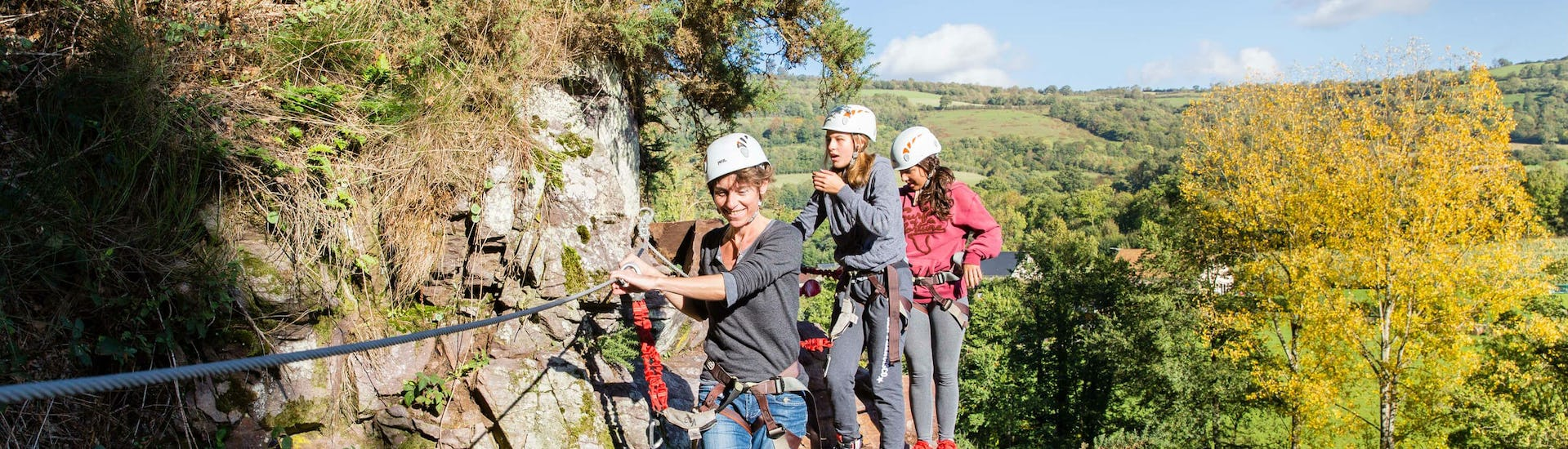 Via Ferrata for Young and Old - Cambronnerie
