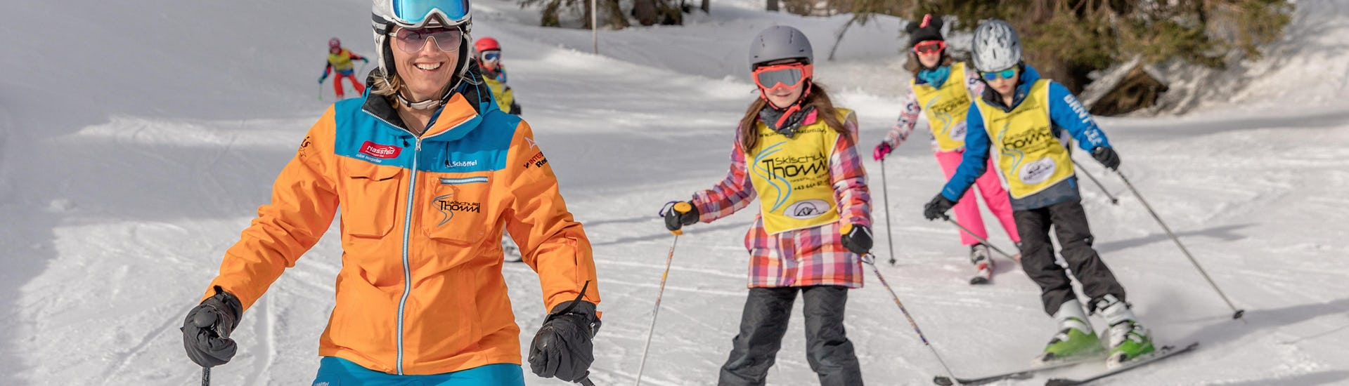 Ski Lessons for Teenagers (13-18 years) - Beginners