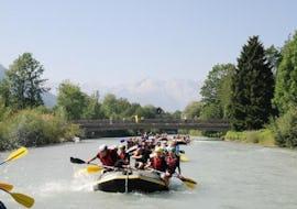 Rafting auf der Loisach für Familien
