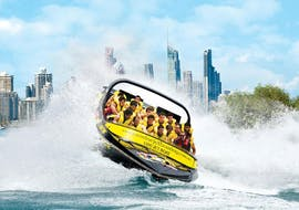 A full of excitement Tour in a Jet Boat on the Gold Coast - Express Ride organized by Paradise Jet Boating Gold Coast.