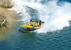 Cruising on the river during Tour in a Jet Boat on the Gold Coast - Surfers Paradise organized by Paradise Jet Boating Gold Coast.