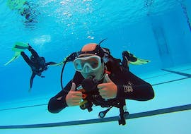 Trial Scuba Diving in Lagos in a Pool