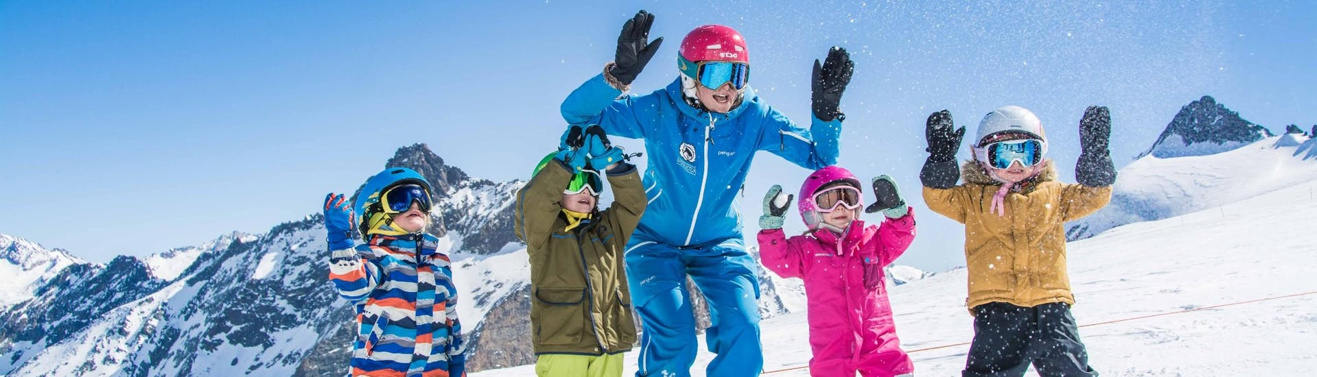 Trial Ski Lessons for Kids (from 4 y.) for Beginners
