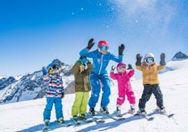 Cours de ski Enfants dès 3 ans - Premier cours avec ESKIMOS Ski & Snowboard School  Saas-Fee