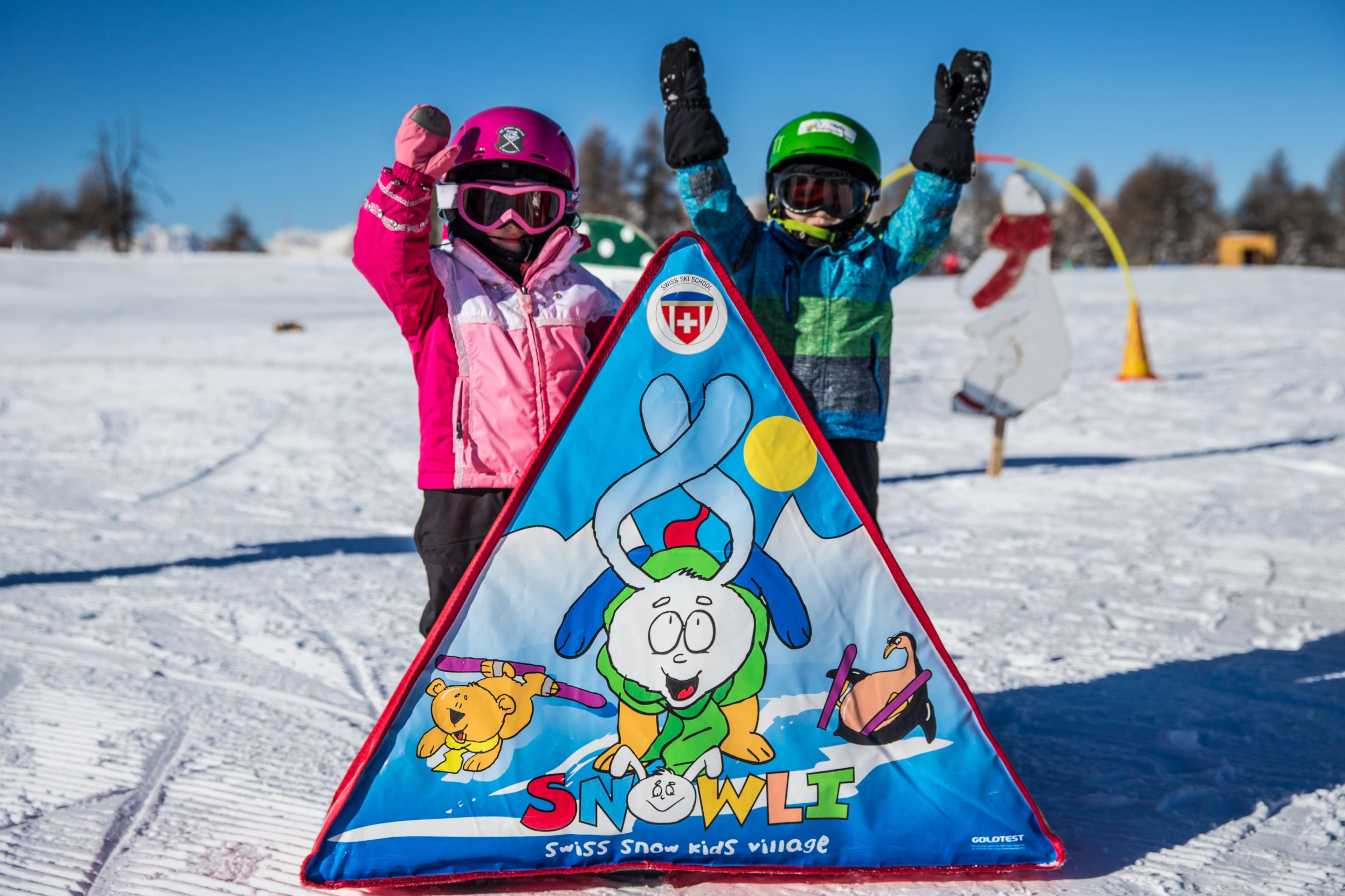 Cours de ski Enfants (3-5 ans) - Demi-journée