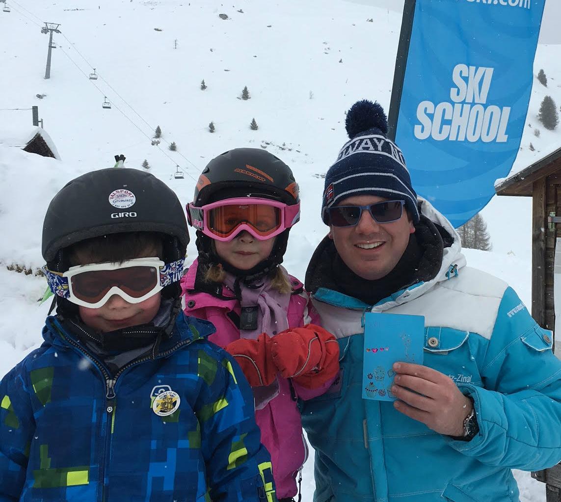 Cours particulier de ski Enfants pour Tous âges - Grimentz