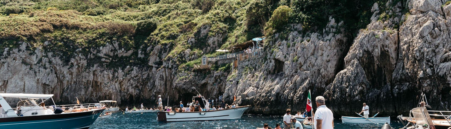 Boat Tour from Naples to Capri