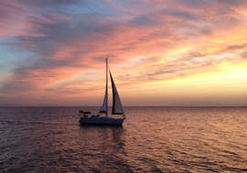 Balade privée en voilier La Manga del Mar Menor avec Baignade & Coucher du soleil avec Mar Menor Charter