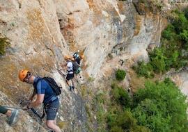 Via Ferrata du Liaucous dans les Gorges du Tarn