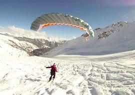 Tandem Paragliding from Col du Prorel - Big Flight