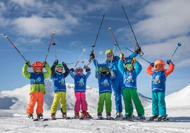 Kids Ski Lessons (5-11 y.) for Beginners
